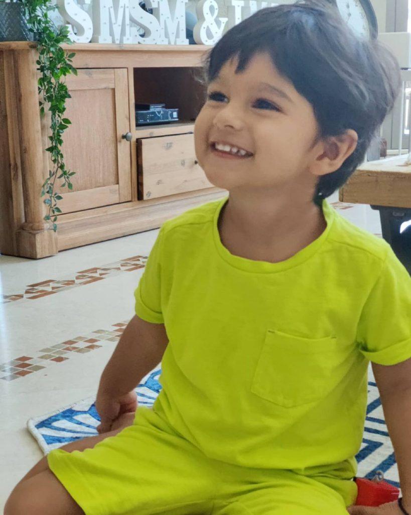Latest Clicks Of Sania Mirza And Shoaib Malik's Son Izhaan Mirza Malik