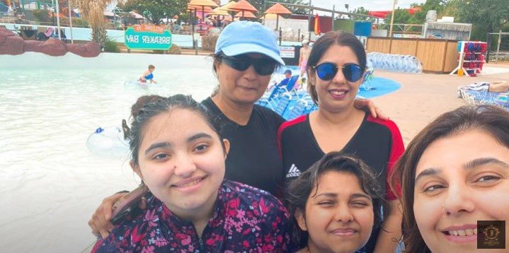 Javeria Saud's New Vlog Is All About Her Trip To Hawaiian Falls, Texas