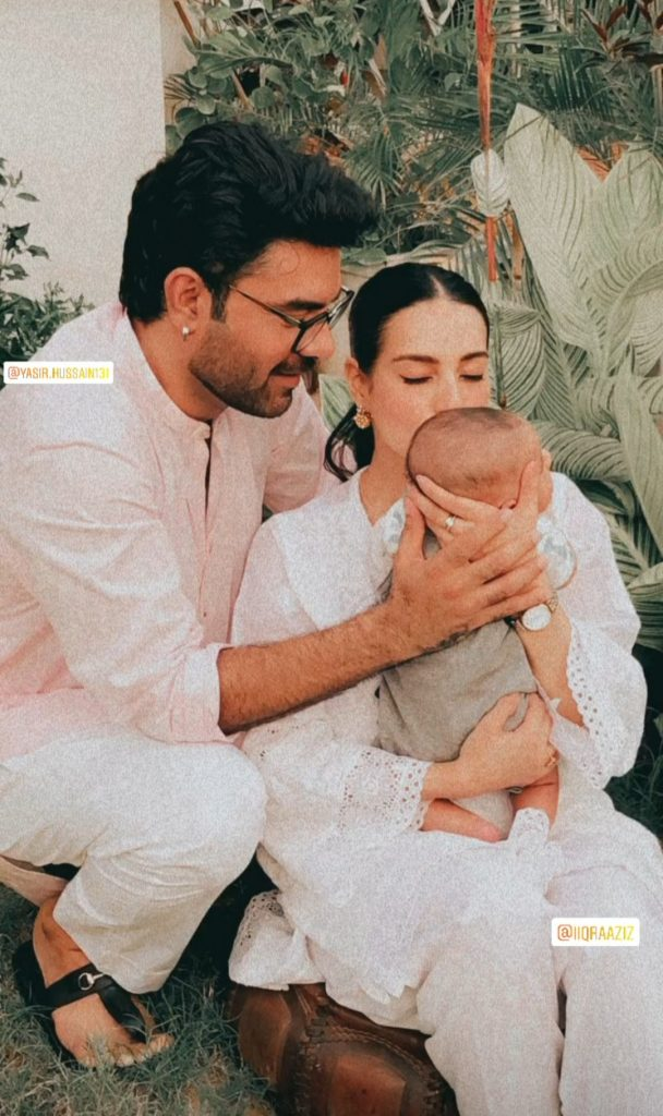 Celebrities Spotted At The Aqiqa Of Iqra And Yasir's Son Kabir Hussain
