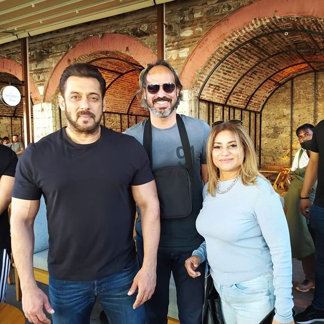 Actress Mariam Mirza Shared Glimpses From The shoot Of Tiger 3
