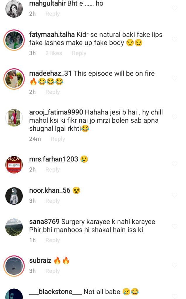 Mathira Denies Getting Plastic Surgeries - Comments