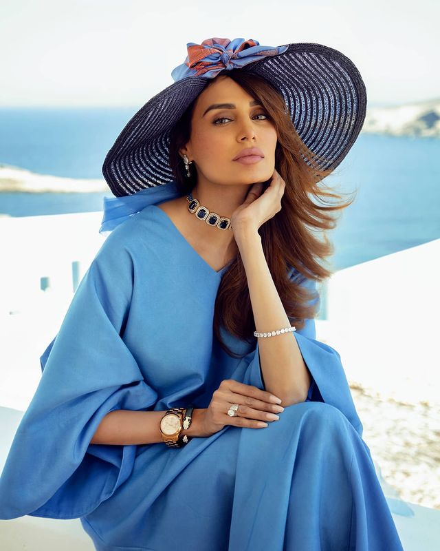 Mehreen Syed Turns Heads With An Exotic Shoot For HSY