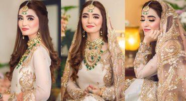 Merub Ali Is Every Bride's Dream In A Gorgeous Ensemble By SFK Bridals