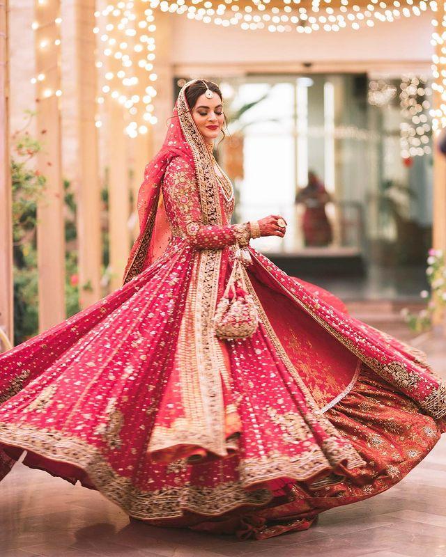 Beautiful Wedding Portraits Of Minal Khan And Ahsan Mohsin