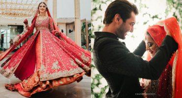 Minal Khan And Ahsan Mohsin's HD Wedding Video