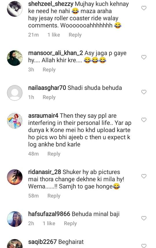Public Criticism On Minal Khan's Honeymoon Outfit