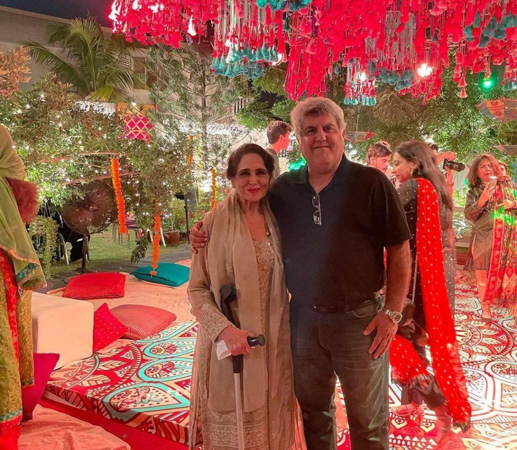 Minal Khan & Ahsan Mohsin Ikram Dholki Night - Pictures