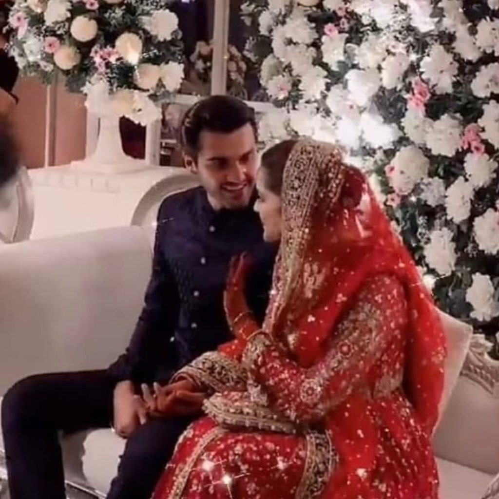 Ahsan Mohsin and Minal Khan Wedding Pictures