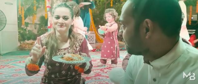 Minal Khan Mayon And Dholak - Muneeb Butt's Interesting New Vlog
