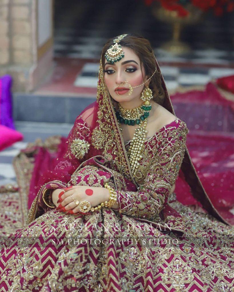 Samsara Couture House Bridal Attire Featuring Nawal Saeed