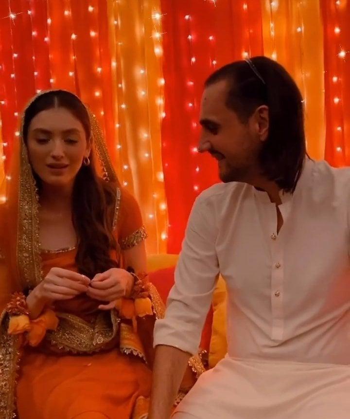 Neha Rajpoot And Shahbaz Taseer's Mayun Event- Exclusive Pictures