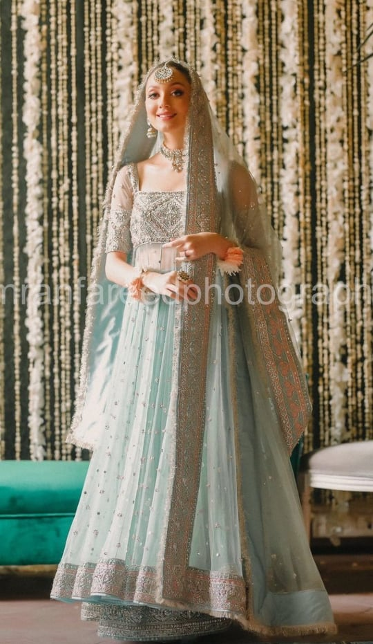 Neha Rajpoot's Nikkah And Reception-HD Pictures