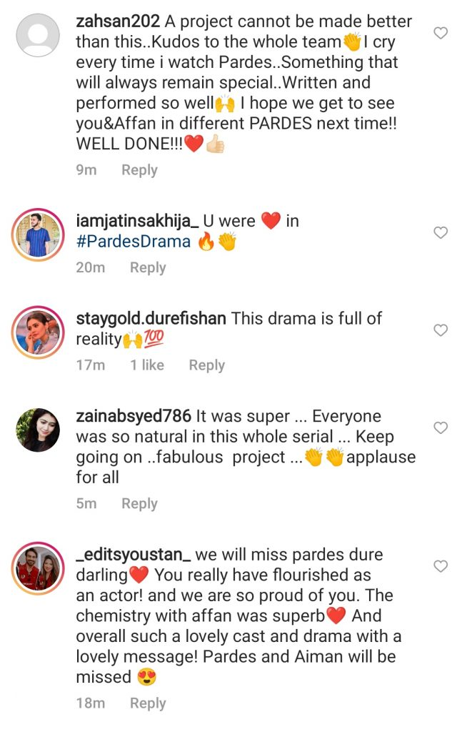 Public is Ecstatic With Drama Serial Pardes' Ending