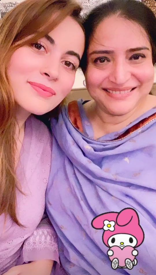 Shagufta Ejaz Hosts A Family Get Together- Beautiful Pictures