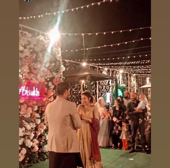 Actress Sukynah Khan Got Engaged