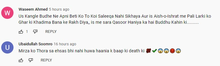 People Are Furious With Behroze Sabzwari's Character In Wafa Be Mol