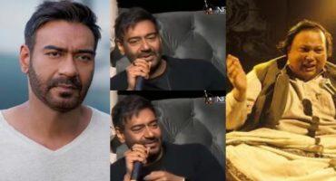 You Will Love Ajay Devgn's Interesting Story About Nusrat Fateh Ali Khan