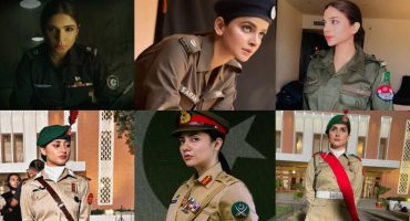 Famous Pakistani Actresses Gracefully Donning Uniform