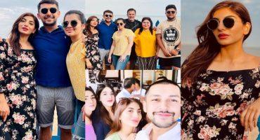 Mariam Ansari Latest Beautiful Clicks With Husband