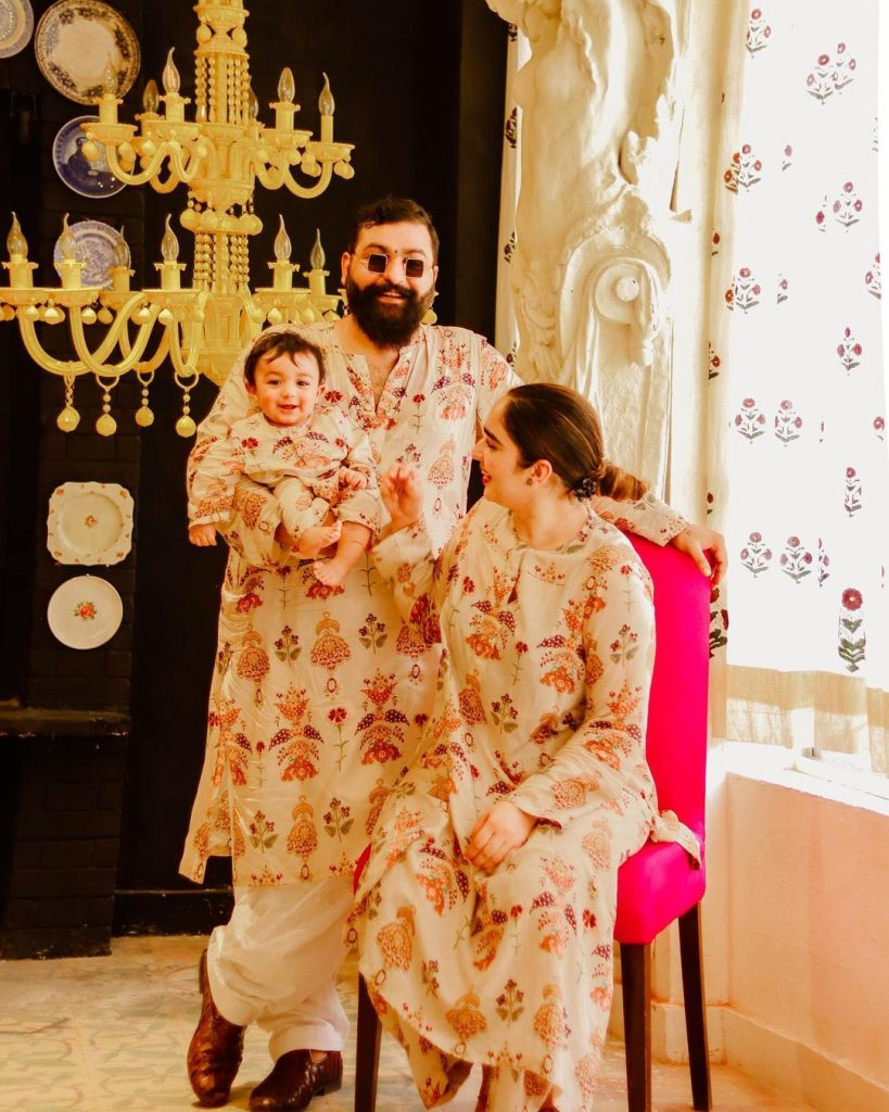 Adorable Family Pictures Of Ace Fashion Designer Ali Xeeshan