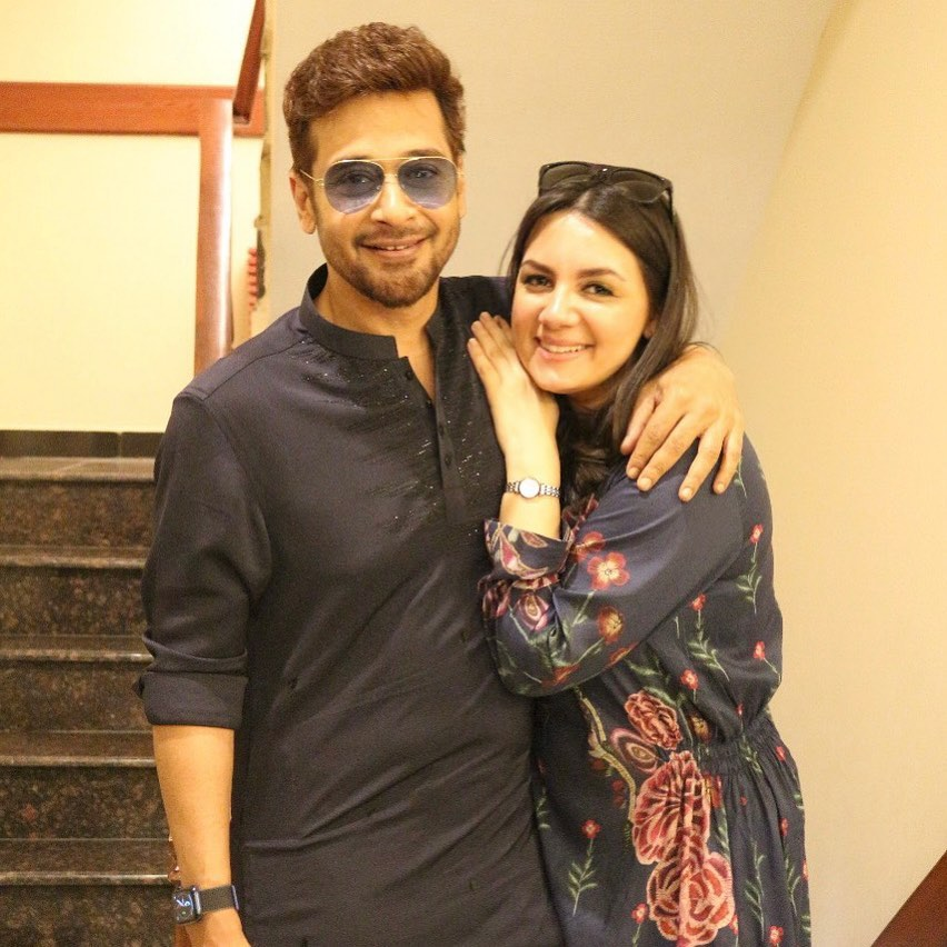 Faysal Qureshi Extends A Lovely Birthday Wish To His Wife