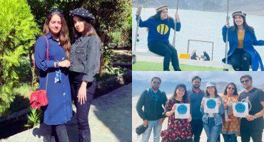 Arisha Razi And Sarah Razi's Pictures From Northern Pakistan Trip