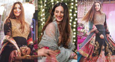 Actress Kinza Razzak Flaunts Ethereal Beauty At A Recent Wedding Event