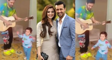 Atif Aslam's Youngest Son Shaking His Leg On His Father's Tunes