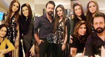Atif Aslam's Wife Sara Bharwana's Star Studded Birthday Bash