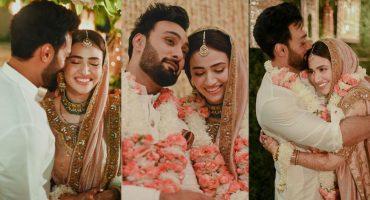 Sana Javed And Umair Jaswal's First Wedding Anniversary - Celebrities Wishes