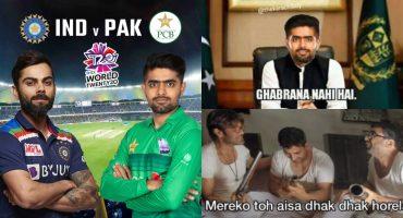Pakistan VS India Pre-Match Hype On Twitter