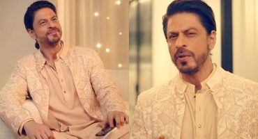 Shahrukh Khan Wore A Pakistani Designer Outfit In His Latest Ad