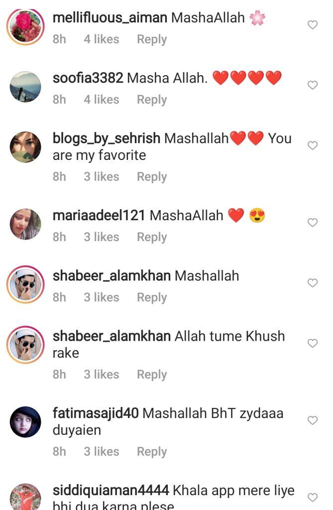 Internet Admires the Act of Maria B Reciting Surah Kahaf