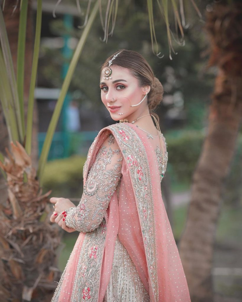 Mashal Khan Embodies Ethereal Charm In Her Latest Bridal Shoot