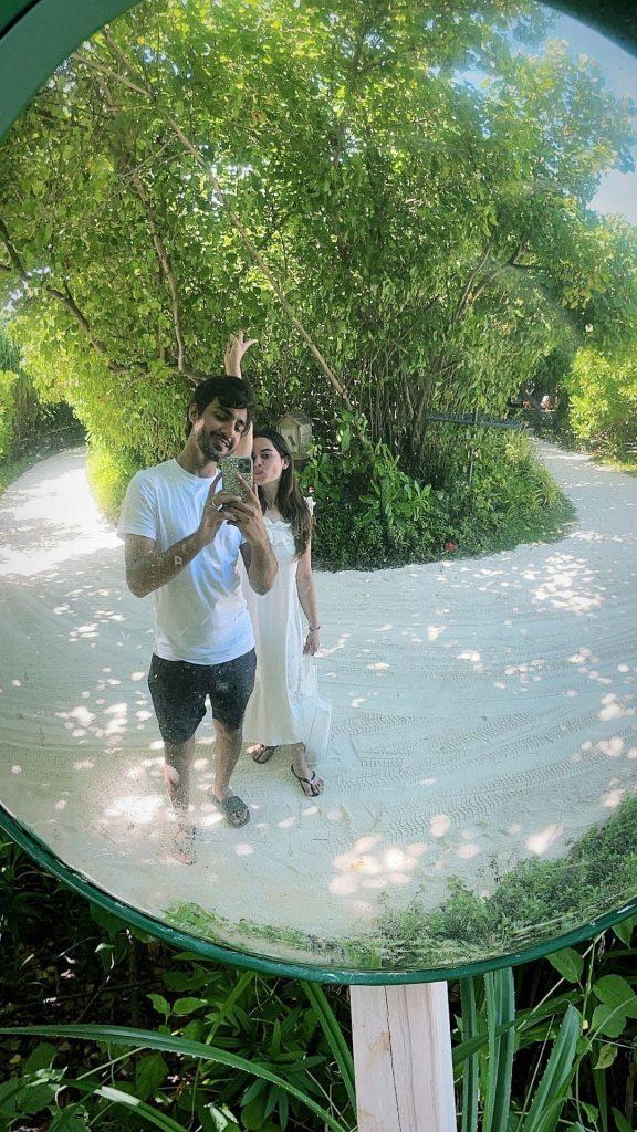 Beautiful Clicks From Minal Khan And Ahsan Mohsin Ikram's Honeymoon – Day 4