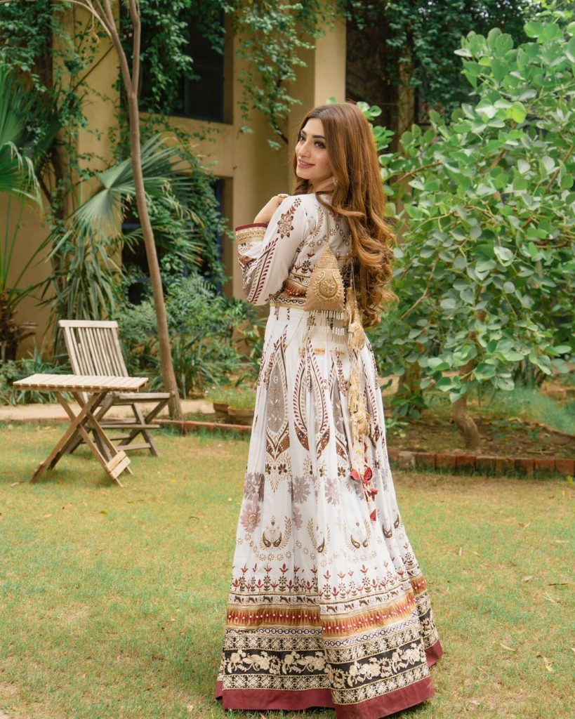Zahra Ahmad's Latest Formal Collection'21 Featuring Nawal Saeed