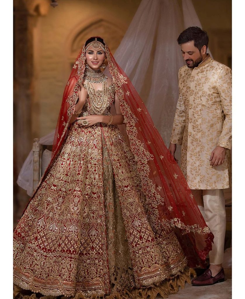 Ravishing Pictures Of Nimra Khan And Mikal Zulfiqar From Their Recent Shoot