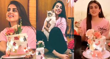 Yashma Gill Celebrating Her Birthday - Adorable Pictures