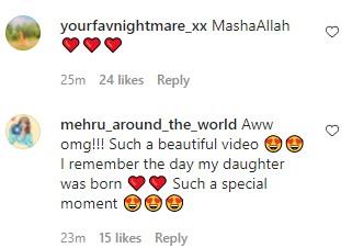 Adorable Video Of Falak Shabir Reciting Azaan In His Daughter's Ear