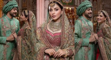 Aima Baig And Shahbaz Shigri Pair Up For A Bridal Shoot
