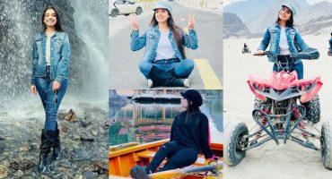Arisha Razi's Beautiful Pictures From Skardu Trip