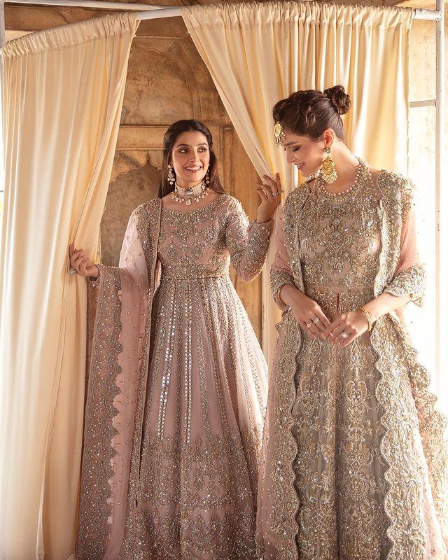 Ayeza Khan Looks Undeniably Gorgeous In Her Latest Bridal Shoot