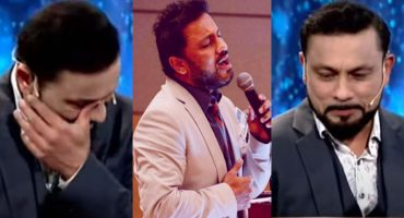 Najam Sheraz Got Teary-Eyed During The Live Show