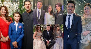 Celebrities Spotted At Taha Sadaqat's Wedding Event