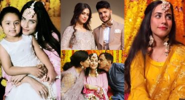 Exclusive Pictures And Videos From Shahveer Jafry's Fiancé Ayesha Baig's Mayon