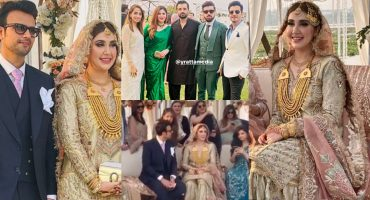 Exclusive Pictures From Usman Mukhtar's Wedding Day