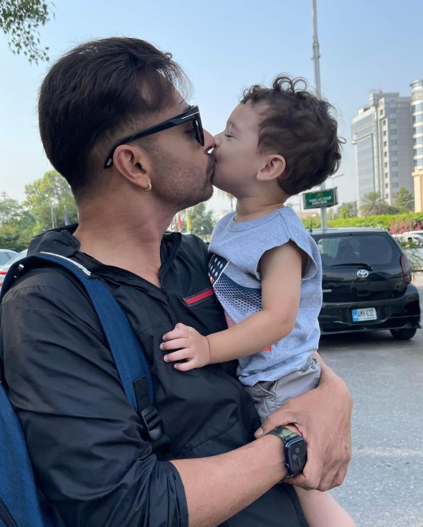 Faysal Quraishi Spotted In Islamabad With Family