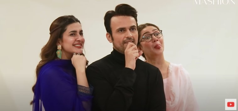 Exclusive Fun-filled BTS From the Set Of Hum Kahan Ke Sachay Thay
