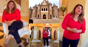 Javeria Saud Visiting Her Friend's Dream Like House In USA
