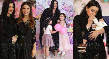 Kiran Tabeir At A Family Event- Adorable Pictures